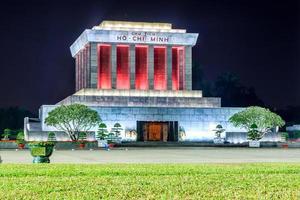 mausoleum av ho chi minh foto