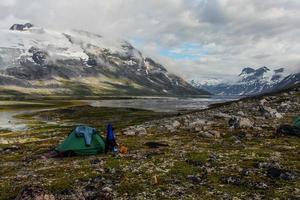 camping i grönland foto