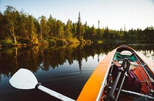 äventyr på vattnet foto