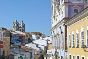 utsikt över pelourinho foto