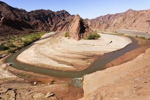 canyon troya (quebrada troya), la rioja, argentina foto
