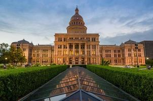 texas state capitol building in austin, tx. foto