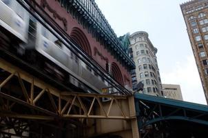 tåg passerar foto