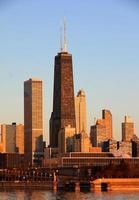 hancock torn, chicago foto
