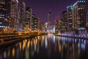 Chicagofloden - trumptorn foto