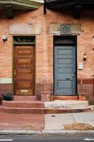 två dörrar foto