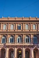 casa rosada byggnad i buenos aires, argentina. foto