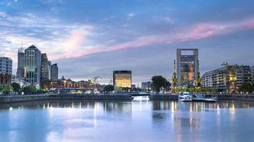 buenos aires stadsbild, huvudstad i Argentina foto