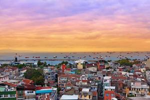 istanbul solnedgång foto