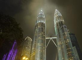 tvillingtorn i Kuala Lumpur (malaysia) foto