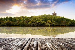 Kina Hangzhou västra sjön foto