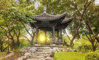 kinesisk paviljong foto