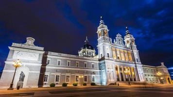 katedralen i madrid foto