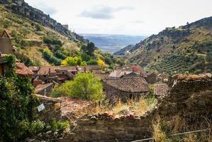 höst på patones de arriba, comunidad de madrid, spanien foto