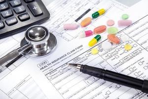 kostnad för sjukvårdskoncept 2 foto