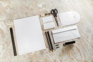 brevpappersuppsättning foto