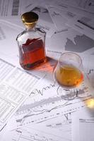 brandy på diagram foto