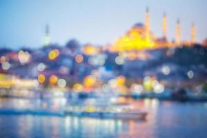 moskén i istanbul foto