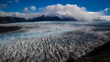 stor glaciär i patagonien foto