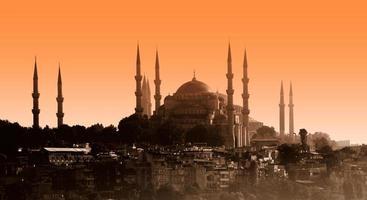 sultan ahmet moské, istanbul foto