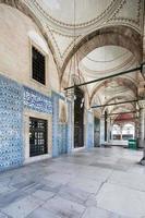 rustem pasa moské, istanbul, kalkon foto