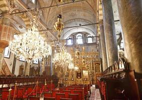 kyrkan i St. george, istanbul, kalkon foto
