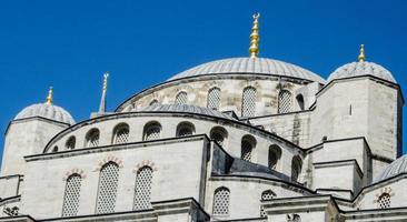 den blå moskén i istanbul foto