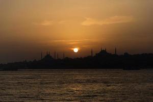 solnedgång foto