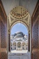 suleymaniye-moskén, istanbul, kalkon foto