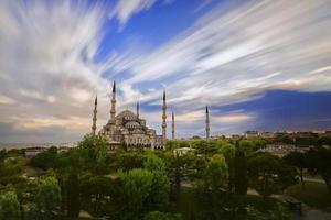 sultan ahmet moské foto