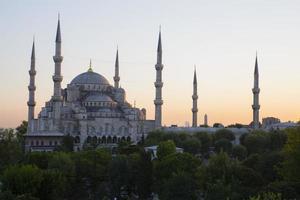 blå moské och hagia sophia