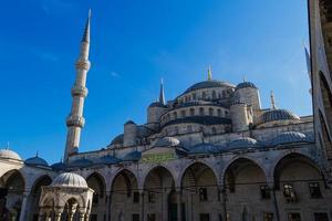 sultan ahmed moské, istanbul kalkon