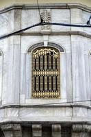 fönster i processionskiosken, istanbul, kalkon. foto