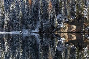 lago di braies ii foto