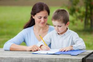 familjeutbildning foto