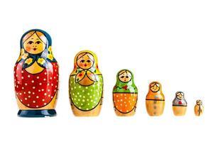 ryska familjen foto