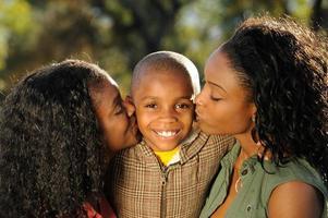 lyckligt barn foto