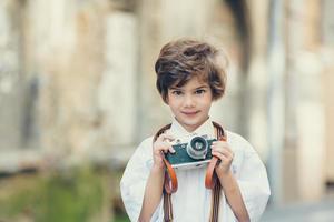 barn porträtt foto
