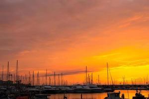 alghero solnedgång foto