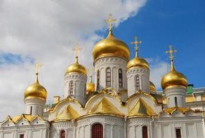 domkyrka, Kreml i Moskva foto