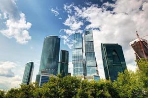 moskva-stad (Moskva internationella affärscentrum) foto