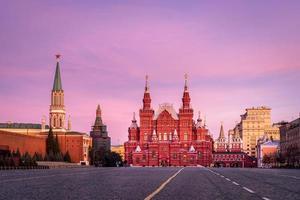 historiska museum i Moskva foto