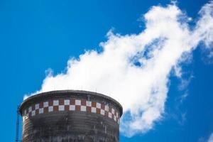 värmekraftverk foto