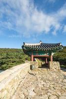 busan fort i Sydkorea foto