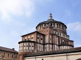 santa maria delle grazie kloster, milan, lombardy, italien foto