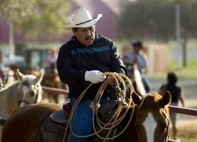 äldre cowboy foto
