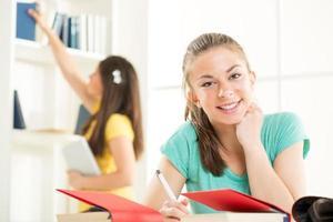 kvinnlig student foto
