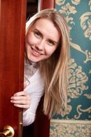 ung kvinna foto
