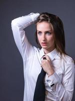 kvinnlig redaktion för maskulinitet foto