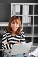 kvinnlig chef foto